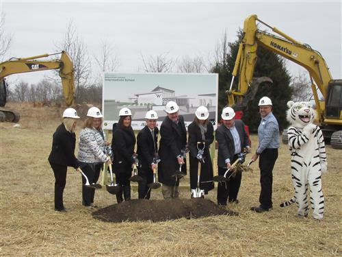 Intermediate School Groundbreaking Ceremony