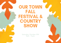 Our Town Fall Festival