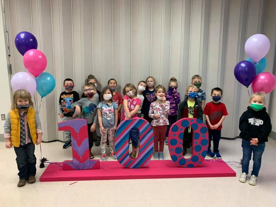 Preschool 100th day