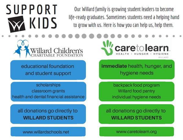 Support Willard Kids Graphic