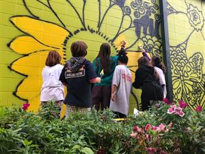 Mural Group Painting