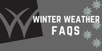 Winter Weather FAQs