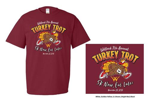 Turkey Trot 2018 TShirt Design
